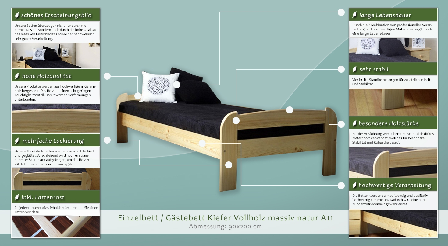 bett. Black Bedroom Furniture Sets. Home Design Ideas