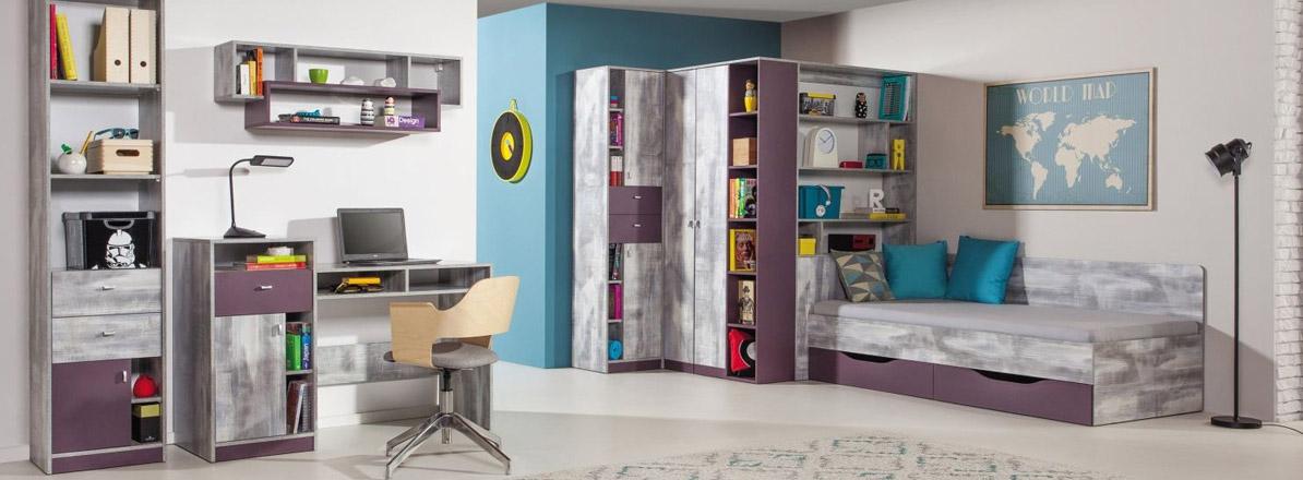 Eckkleiderschrank jugendzimmer  Easy Möbel Shop